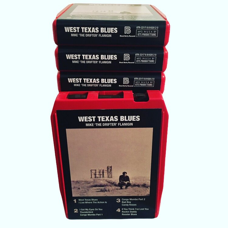 West Texas Blues Red Carts